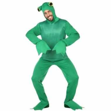 Groene kikker verkleedpak volwassenen