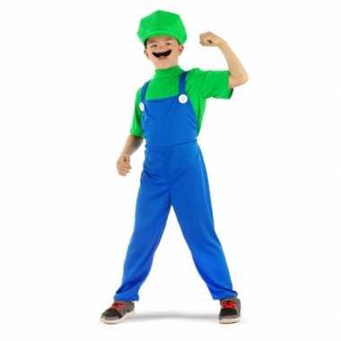 Loodgieter pak groen jongens