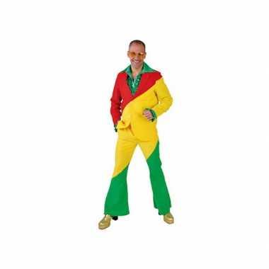 Rood/geel/groene pak volwassenen
